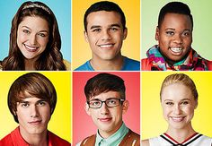 Marley, Jake, Unique, Ryder, Artie and Kitty in Glee Season 5