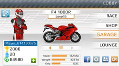 Go head-to-head against your friends or random racers, beat them while driving their own bikes, or race against 9 players at once in real-time competitions. #dragbike #racinggame #motorcycle #android #ios