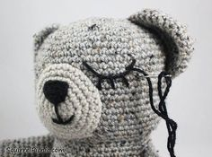 How To Add Faces To Your Amigurumi Part 3: Sleepy Face · Technique Tuesday · Cut Out + Keep Craft Blog