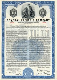 Bethlehem steel corp stock certificate 1967 scripophily dow general electric company 1956 1000 bond ralph cordiner yadclub Images