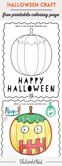 Color And Create Jack O Lanterns With Our Free Halloween Coloring Page For