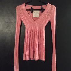 Hollister sweater Pink hollister sweater Hollister Sweaters V-Necks