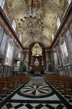 Eglise Bonsecours de #Nancy - #France Culture Of France, Devin Art, Nancy France, Alsace, Christian World, Windsor Castle, French Chic, Art World, Paris France