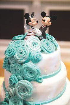 A Tiffany blue wedding with a sprinkle of Disney magic