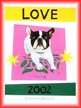 2002 - YSL Love card with Moujik