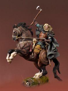 Vikingo a Caballo, 850 D.C.