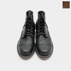 Viberg ヴァイバーグ[5 SERVICE BOOT] サービスブーツ(ブラック/ブラウンスエード)【楽天市場】