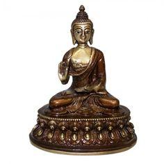 Buddha Statue with Antic Finish