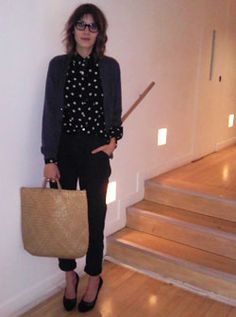 Alexa Chungs fashion choices, day 26 (Vogue.com UK)