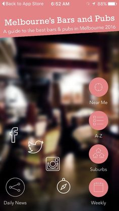 IMG_3208 Melbourne Pubs, Pub Bar, Cool Bars, Smartphone, App, Bar Stand, Apps