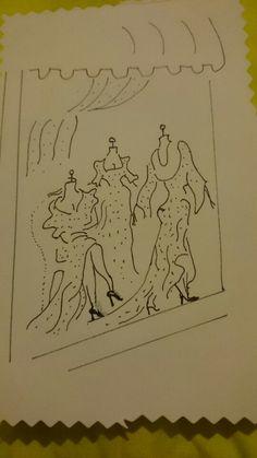 Fineliner tekening
