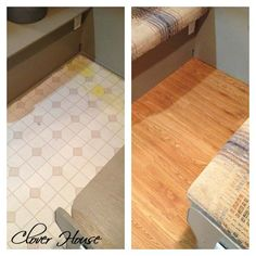 RV Remodel on a Budget - Floor