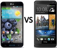 Compare LG Optimus G Pro vs HTC One