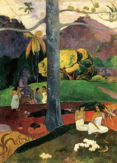Paul Gauguin Mata Mua (in Olden Times) print for sale. Shop for Paul Gauguin Mata Mua (in Olden Times) painting and frame at discount price, ships in 24 hours. Cheap price prints end soon. Paul Gauguin, Oil On Canvas, Canvas Art, Canvas Prints, Art Prints, Gauguin Tahiti, Pop Art, Dark Drawings, Artist Canvas