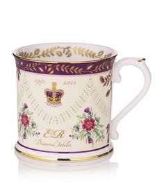 Hudson & Middleton: Queen Elizabeth II Diamond Jubilee Mug