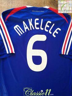 Set Flock Nameset Home Maillot France jersey shirt France 1992
