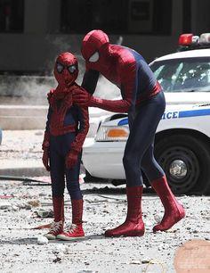 amazing spiderman 2 movie on set photos | The Amazing Spider-Man 2: nuove fantastiche immagini dal set con ...