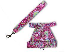Pink Pattern Rabbit Harness  Matching by louisescountrycloset, $12.00