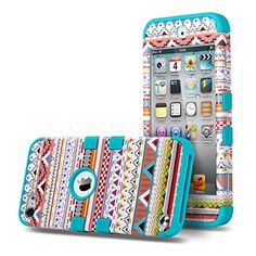 ULAK Hybrid 3 Layer Hard Pattern with Silicon Shockproof Case Cover for Apple iPod Touch 5 Generation (Purple Tribal / Blue) ULAK http://www.amazon.com/dp/B00YE3LFU8/ref=cm_sw_r_pi_dp_nzIDvb0BQTNKJ
