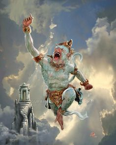 My superHero Hanuman by ngurahrai on @DeviantArt