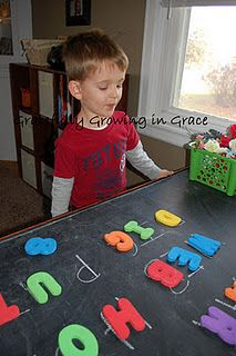 Alphabet Hunt (and Alphabet Letter Matching) Game
