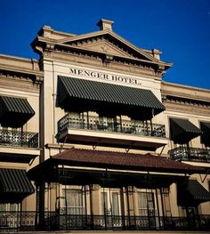 Menger Hotel, San Antonio, TX.             My favorite haunted place. Get a room closet to the Alamo, never seen ghost but many have been waken by sounds of distant gun fire and yelling. That side of hotel was built on the grounds of the original Alamo, also the area Santa Ana had the soldiers bodies burned.
