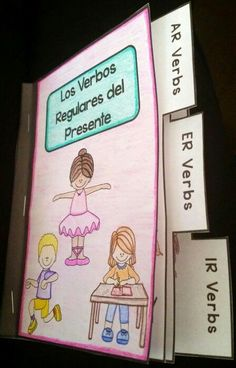 FREE download for a limited time! Mini book for regular AR, ER, and IR verbs in the present tense https://www.teacherspayteachers.com/Product/Regular-AR-ER-and-IR-Verbs-Mini-Book-2152666