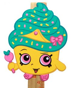 Your place to buy and sell all things handmade Shopkins Party Decoration Shopkins Cupcake by KsPaperieDreams Cupcake Queen Shopkins, Shopkins Cake, Party Decoration, Paper Decorations, Shopkins Picture, Shopkins Characters, Monster High Dolls, Kawaii, Diy Party