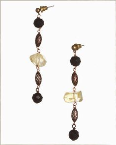 Hand made earrings, made with love.  Gioà.