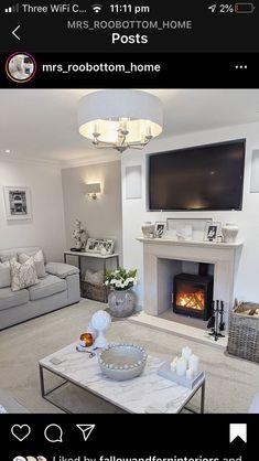 Alcove Ideas Living Room, Decor Home Living Room, Home And Living, Living Room Designs, Room Ideas, Decor Ideas, Home Decor, Cosy Grey Living Room, Classy Living Room