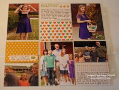 What a fun page made with the Everyday Adventure cards and embellishments.