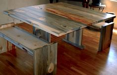 Awesome table!!! Bettle kill pine