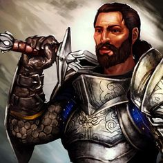 Duncan - Promotional art for Heroes of Dragon Age.