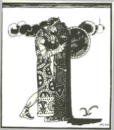 For they were friends as long as they lived - Kay Nielsen