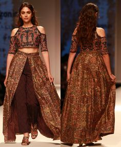 AIFW A/W'16: Aditi Rao Hydari turns showstopper for designer Shruti Sancheti