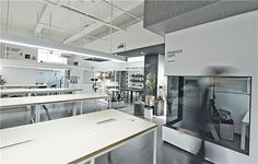 to accommodate the company's growth, RIGI's in-house team was tasked with creating an ideal interior for their new office in a former factory.