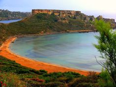 The beach at Ghajn Tuffieha is named the most romantic place in Malta in a new online poll