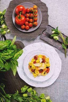 Roasted Tomato & Mozzarella Tortelloni with Cherry Tomatoes, Basil and Parmesan - Recipe by Giovanni Rana