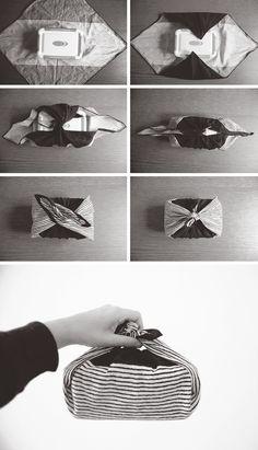 All sizes | Anschauliche Anleitung zum Verpacken einer Bentobox in ein Umschlagtuch.