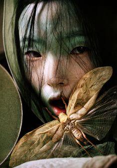 Magazine:WYear:2012Models:Xiao Wen JuPhotographer:Tim Walker* http://fashographyscans.com/