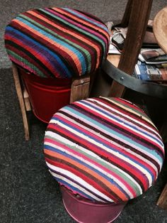 BOLD • BRIGHT • INDIVIDUAL #stools at the 2014 Port Elizabeth HOMEMAKERS Expo