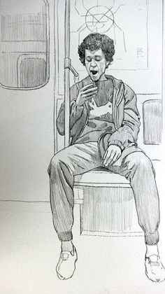 + 100 Best Easy Pencil Drawings Images : 41 People Traveling Pencil Drawing Ideas - Art & Drawing Community : Explore & Discover the best and the most inspiring Art & Drawings ideas & trends from all around the world Human Figure Sketches, Human Sketch, Human Figure Drawing, Figure Sketching, Figure Drawings, Animal Drawings, Pencil Drawings, Art Drawings, Amazing Drawings