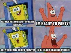 Funny SpongeBob SquarePants - Patrick Star