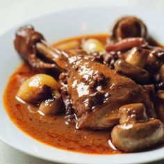 Coq Au Vin is a great chicken dish from Take Home Chef. Learn to make coq au vin with this recipe from TLC Cooking. Uk Recipes, Gourmet Recipes, Cooking Recipes, Cheap Recipes, French Recipes, One Pot Chicken, How To Cook Chicken, Chicken Legs, Tarte Tartin