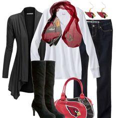Arizona Cardinals Fall Fashion