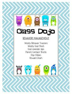 class dojo! resources to help implement it in the classroom I LOVE DOJO!!!! It is the most amazing thing I have ever implemented in my classroom.