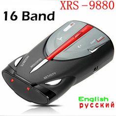 Новый Радар Cobra XRS 9880 full Band Высокая Производительность Радар детектор Автомобилей Лазерный Детектор с Русский/Английский Голос Анти полиция