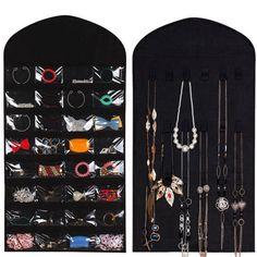 BalleenShiny 16 Grid Hanging Storage Bag Clear Door Wall Socks