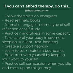 Tips for Self-Help are Here! Mental Health Therapy, Mental Health Support, Mental And Emotional Health, Good Mental Health, Mental Health Quotes, Emotional Healing, Take Care Of Your Body, Spiritual Health, Self Awareness