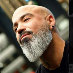 """BEARDS IN THE WORLD on Instagram: """"From pinterest TOP BARBERS IN THE WORLD 👉THE BEST WAY BALD & BEARD #beautifulbeard #beard #beards #bearded #barbudo #barbe #barbu #barbeiro…"""" Faded Beard Styles, Different Beard Styles, Long Beard Styles, Hair And Beard Styles, Bald Men With Beards, Black Men Beards, Bald With Beard, Long Beards, Beard Cuts"""